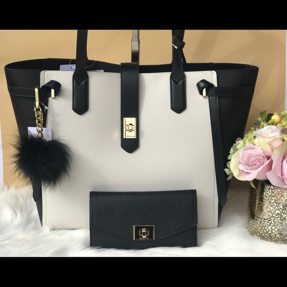 3c0813c69c6bb8 Michael Kors Bags   Black Vanilla Pebbled Leather Tote   Poshmark